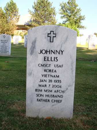 ELLIS  (VETERAN 2 WARS), JOHNNY - Washington County, Arkansas | JOHNNY ELLIS  (VETERAN 2 WARS) - Arkansas Gravestone Photos