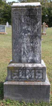 ELMS, ALTA - Washington County, Arkansas | ALTA ELMS - Arkansas Gravestone Photos