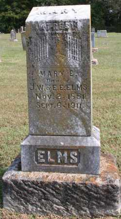 ELMS, MARY E. - Washington County, Arkansas | MARY E. ELMS - Arkansas Gravestone Photos