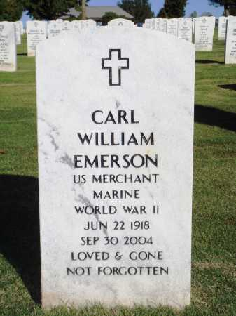 EMERSON  (VETERAN WWII), CARL WILLIAM - Washington County, Arkansas | CARL WILLIAM EMERSON  (VETERAN WWII) - Arkansas Gravestone Photos
