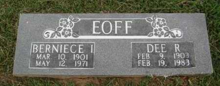EOFF, DEE R. - Washington County, Arkansas | DEE R. EOFF - Arkansas Gravestone Photos