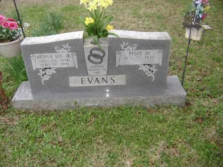 EVANS, ARTHUR LEE JR. - Washington County, Arkansas | ARTHUR LEE JR. EVANS - Arkansas Gravestone Photos