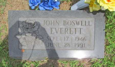 EVERETT, JOHN BOSWELL - Washington County, Arkansas | JOHN BOSWELL EVERETT - Arkansas Gravestone Photos