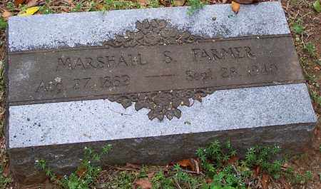 FARMER, MARSHALL S. - Washington County, Arkansas | MARSHALL S. FARMER - Arkansas Gravestone Photos