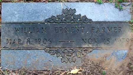 FARMER, WILLIAM ERNEST - Washington County, Arkansas | WILLIAM ERNEST FARMER - Arkansas Gravestone Photos