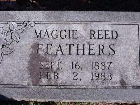 REED FEATHERS, MAGGIE - Washington County, Arkansas | MAGGIE REED FEATHERS - Arkansas Gravestone Photos