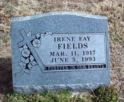 ALSUP FIELDS, IRENE FAY - Washington County, Arkansas | IRENE FAY ALSUP FIELDS - Arkansas Gravestone Photos