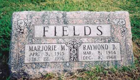 FIELDS, MARJORIE MAXINE - Washington County, Arkansas | MARJORIE MAXINE FIELDS - Arkansas Gravestone Photos