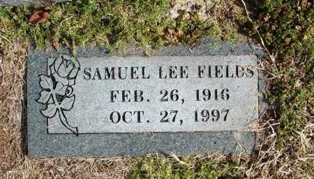 FIELDS, SAMUEL LEE - Washington County, Arkansas | SAMUEL LEE FIELDS - Arkansas Gravestone Photos