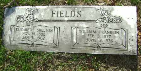 FIELDS, WILLIAM FRANKLIN - Washington County, Arkansas | WILLIAM FRANKLIN FIELDS - Arkansas Gravestone Photos
