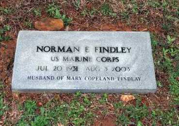 FINDLEY  (VETERAN), NORMAN E. - Washington County, Arkansas | NORMAN E. FINDLEY  (VETERAN) - Arkansas Gravestone Photos