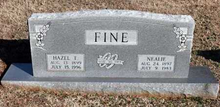 FINE, HAZEL T. - Washington County, Arkansas | HAZEL T. FINE - Arkansas Gravestone Photos