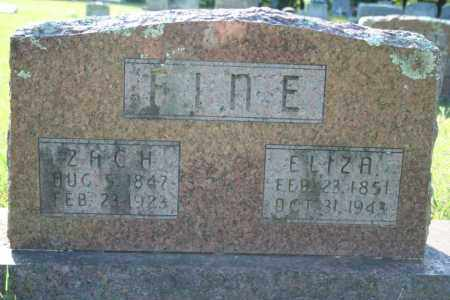 FINE, ZACH - Washington County, Arkansas | ZACH FINE - Arkansas Gravestone Photos