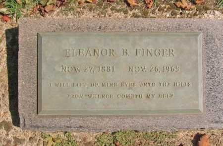 FINGER, ELEANOR B. - Washington County, Arkansas | ELEANOR B. FINGER - Arkansas Gravestone Photos