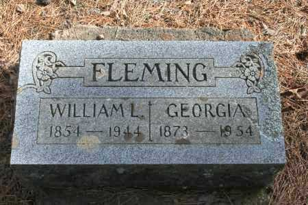 FLEMING, GEORGIA - Washington County, Arkansas | GEORGIA FLEMING - Arkansas Gravestone Photos