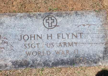 FLYNT (VETERAN WWII), JOHN H - Washington County, Arkansas | JOHN H FLYNT (VETERAN WWII) - Arkansas Gravestone Photos