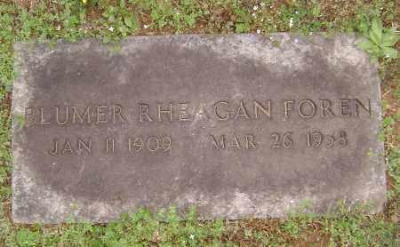 FOREN, BLUMER RHEAGAN - Washington County, Arkansas | BLUMER RHEAGAN FOREN - Arkansas Gravestone Photos