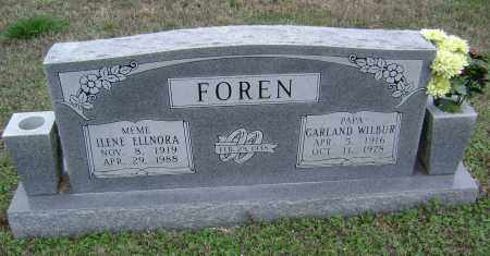 FOREN, ILENE ELLNORA - Washington County, Arkansas | ILENE ELLNORA FOREN - Arkansas Gravestone Photos