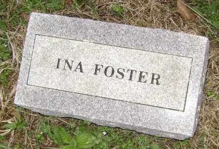 FOSTER, INA - Washington County, Arkansas | INA FOSTER - Arkansas Gravestone Photos