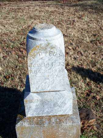 FOX, J. D. - Washington County, Arkansas | J. D. FOX - Arkansas Gravestone Photos