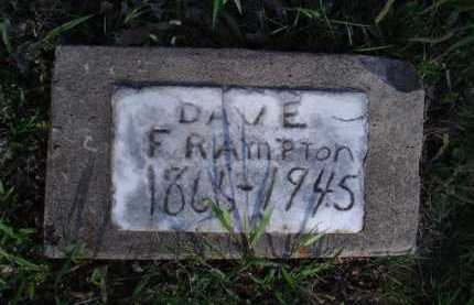 FRAMPTON, DAVE - Washington County, Arkansas | DAVE FRAMPTON - Arkansas Gravestone Photos