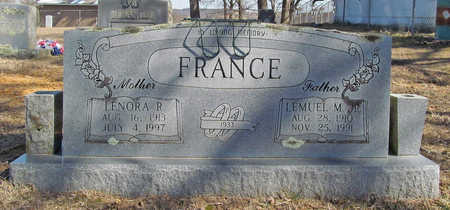 FRANCE, LEMUEL M JR - Washington County, Arkansas | LEMUEL M JR FRANCE - Arkansas Gravestone Photos