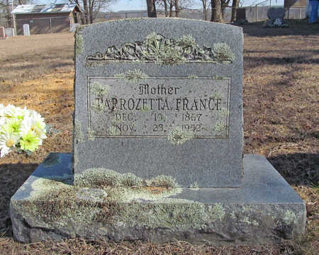 FRANCE, PARROZETTA - Washington County, Arkansas | PARROZETTA FRANCE - Arkansas Gravestone Photos