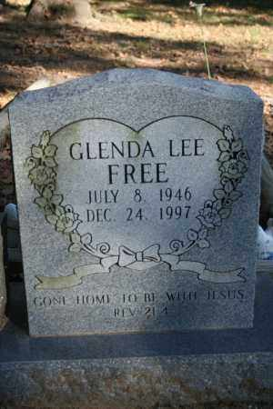 FREE, GLENDA LEE - Washington County, Arkansas | GLENDA LEE FREE - Arkansas Gravestone Photos
