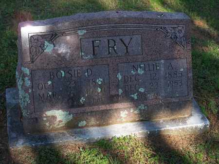 FRY, NELLIE A. - Washington County, Arkansas | NELLIE A. FRY - Arkansas Gravestone Photos