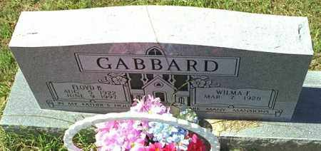 GABBARD, FLOYD B - Washington County, Arkansas | FLOYD B GABBARD - Arkansas Gravestone Photos