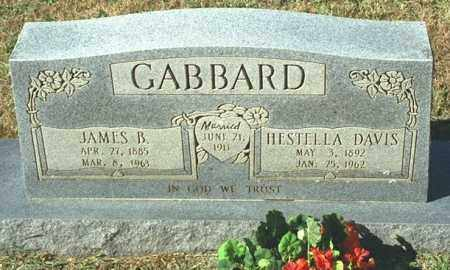 GABBARD, JAMES B - Washington County, Arkansas | JAMES B GABBARD - Arkansas Gravestone Photos