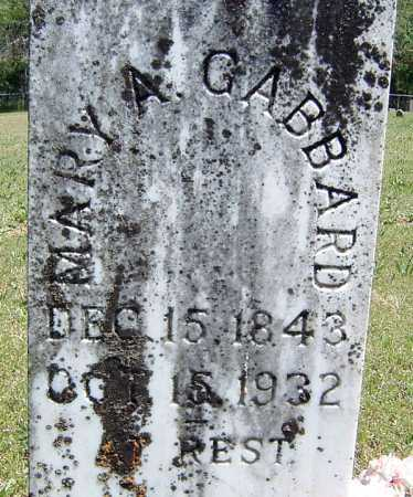 ARVIN GABBARD, MARY ANN - Washington County, Arkansas | MARY ANN ARVIN GABBARD - Arkansas Gravestone Photos