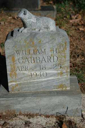 GABBARD, WILLIAM H. - Washington County, Arkansas | WILLIAM H. GABBARD - Arkansas Gravestone Photos