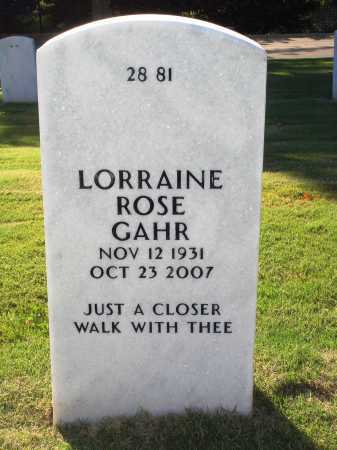 FERBER GAHR, LORRAINE ROSE - Washington County, Arkansas | LORRAINE ROSE FERBER GAHR - Arkansas Gravestone Photos