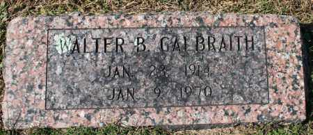 GALBRAITH, WALTER B. - Washington County, Arkansas | WALTER B. GALBRAITH - Arkansas Gravestone Photos