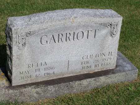 GARRIOTT, CLIFTON H. - Washington County, Arkansas | CLIFTON H. GARRIOTT - Arkansas Gravestone Photos