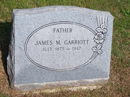 GARRIOTT, JAMES M. - Washington County, Arkansas   JAMES M. GARRIOTT - Arkansas Gravestone Photos