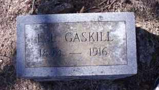 GASKILL, E.L. - Washington County, Arkansas | E.L. GASKILL - Arkansas Gravestone Photos