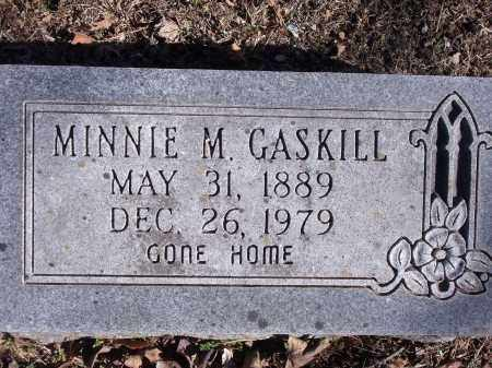 GASKILL, MINNIE MAY - Washington County, Arkansas | MINNIE MAY GASKILL - Arkansas Gravestone Photos