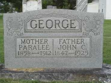 GEORGE, PARALEE - Washington County, Arkansas | PARALEE GEORGE - Arkansas Gravestone Photos