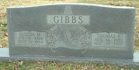 GIBBS, THOMAS F - Washington County, Arkansas | THOMAS F GIBBS - Arkansas Gravestone Photos