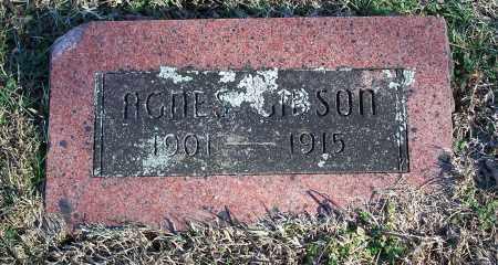 GIBSON, AGNES - Washington County, Arkansas | AGNES GIBSON - Arkansas Gravestone Photos