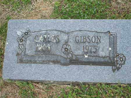 GIBSON, CARLOS JAMES - Washington County, Arkansas | CARLOS JAMES GIBSON - Arkansas Gravestone Photos