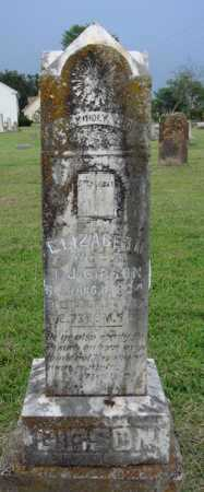 GIBSON, ELIZABETH - Washington County, Arkansas | ELIZABETH GIBSON - Arkansas Gravestone Photos