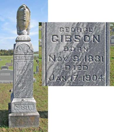 GIBSON, GEORGE B - Washington County, Arkansas | GEORGE B GIBSON - Arkansas Gravestone Photos