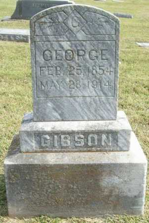 GIBSON, GEORGE - Washington County, Arkansas | GEORGE GIBSON - Arkansas Gravestone Photos