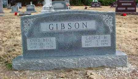 GIBSON, OVED BELL - Washington County, Arkansas   OVED BELL GIBSON - Arkansas Gravestone Photos