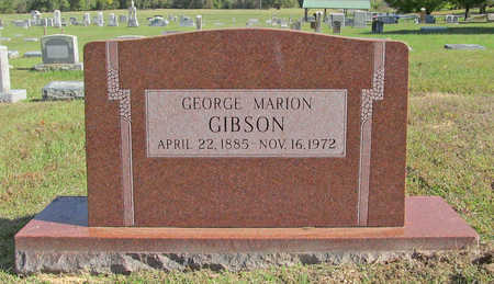 GIBSON, GEORGE MARION - Washington County, Arkansas | GEORGE MARION GIBSON - Arkansas Gravestone Photos