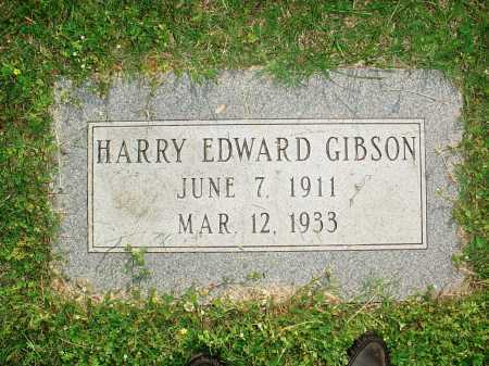 GIBSON, HARRY EDWARD - Washington County, Arkansas | HARRY EDWARD GIBSON - Arkansas Gravestone Photos