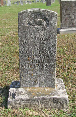 GIBSON, INFANT DAUGHTER - Washington County, Arkansas | INFANT DAUGHTER GIBSON - Arkansas Gravestone Photos